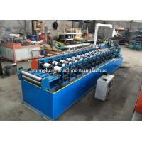 10 Steps Light gauge Steel Forming Machine, C U Stud And Track Roll Forming Machine
