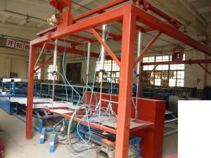 China Sound Insulated Fiber Cement Board Production Line With Safe Stable Steel Structure on sale