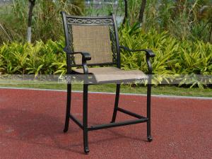 China BMLQ09110H sling bar height chair comfortable relaxing chair on sale