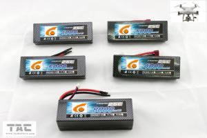 Quality UAV Multirotor RC Car Lipo battery pack 3S  11.1v  70C 2200mah 803496 for sale