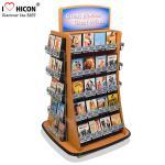 Playing Card CD Card Greeting Card Display Racks Wholesale Freestanding