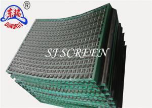 China Desilter API 20-325 Mesh Rock Shale Shaker Mesh Screen 90% ~ 96% Filter Rating on sale