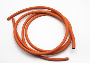 China 6MM / 8MM W.P 300 PSI Lpg Gas Hose Orange Oil Resistant Rubber Hoses For Gas on sale