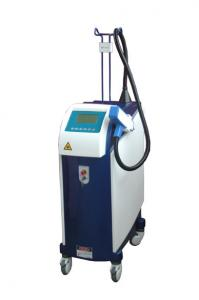 China Q-Switched ND Yag Laser , Red and Yellow tattoo removal machine on sale