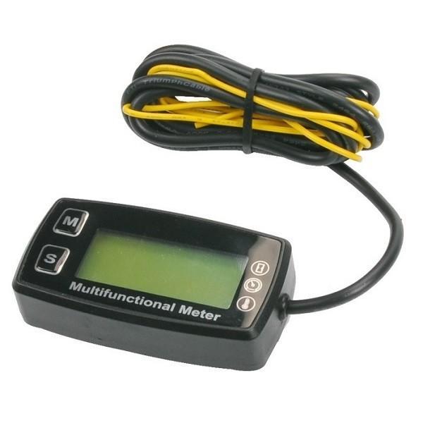 multi-function tachometer hour meter with spark plug temp meter images
