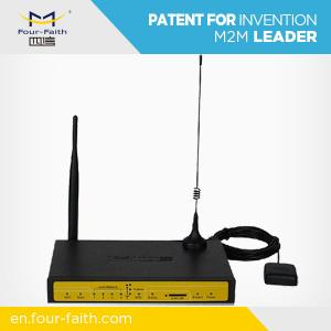 China F7434 Industrial wifi 3G GPS tracking modem router for wifi bus, GPS platform on sale