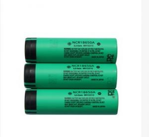 China For panasonic lithium ion battery NCR18650A 3.7V 3100mAh rechargeable for electric bike/rc on sale