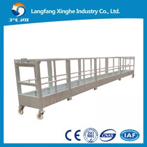 China construction gondola working platform / elevated suspended woking platform / lift cradle on sale