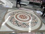 Water Jet Cutting Marble Floor Medallions Interior Luxury Pattern Design