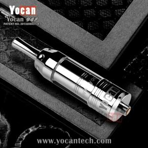 China Yocan original supplier dry herb cloutank vaporizer Yocan 94F with magnet filter dry herb exgo w3 on sale