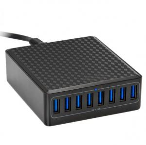 China 5V12A 5V 2.4A 60W Desktop Smart USB Charger / 8 Port Usb Charging Station on sale