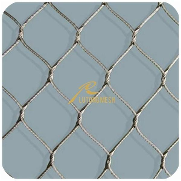 Stainless Steel Wire Rope Mesh,Inter-Woven Rope Mesh for sale ...