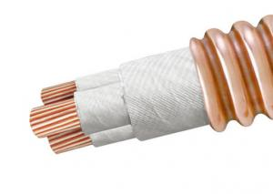 China Copper Mineral Insulated Heating Cable , MICC Cable Metal Sheathed on sale
