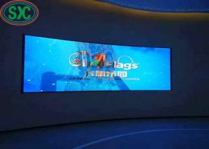 China Full Color High Resolution Led Display Indoor 1/8 Scaning Drive Mode on sale