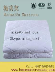 China Fashion Cotton Quilted Mattress Cover on sale