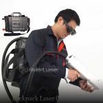 100 Watt Backpack Ternary Lithium Battery Laser Cleaning Machine