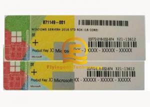 Quality 32 / 64 Bit Sticker Computer System , Softwares Windows 10 Pro Microsoft Server for sale