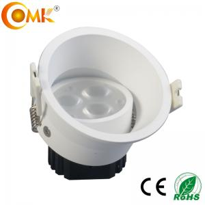 China High Power 9W White painted Round Recessed Downlights LED from China on sale