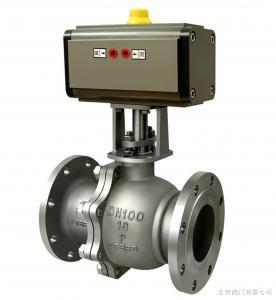 China pneumatic actuator ball valve on sale