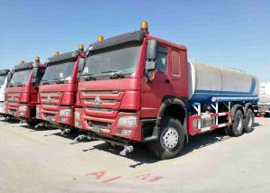 China 20 m3 Water Tanker Vehicle , Sino Howo 6x4 10 Wheeler Water Carrier Truck on sale