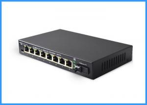 China RJ45 SC Dual Fiber Media Converter 30KM Distance 8 Channel Video Out on sale