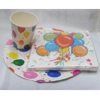 Paper Cup&Paper Plate&Napkins Set (1670074)