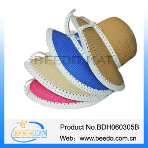 China Wholesale 100% paper women wide brim mexico straw sombrero hat on sale