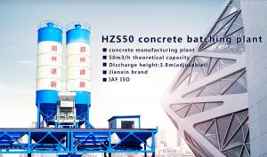 China CE SGS certificate HZS50 Concrete making Plant,plant for making hdpe bags,hdpe tape making plant on sale