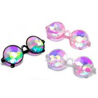 Plastic Hony Newest Product , Flower Lense Kaleidoscope Glasses For Dance Musice Fesvital
