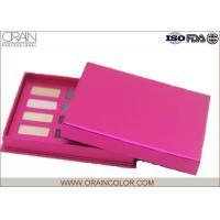 Twelve Color Eye Shadow Palette in Rose Red Color Cardboard Case for Eye Makeup