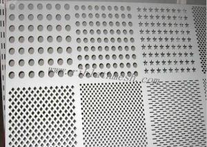 China Silver SS Perforated Metal Mesh Decorative Metal Sheets Lowes 0.8mm-100mm Hole Dia on sale