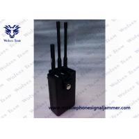 Portable RF Remote Control Jammer 315 / 433 / 868MHz Two Power Adapters