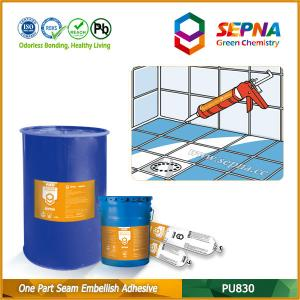 China One Component Self-leveling Polyurethane Seam Embellish Adhesive for All Joints PU830 on sale