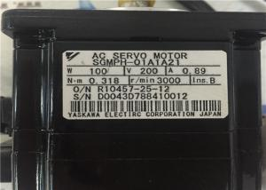 China Servo Motor  YASKAWA AC SERVO MOTOR SGMPH-01A1A21 0.89A  0.318 N.m on sale