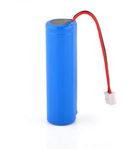 China Cylindrical liLithium-ion Battery pack 18650-1S1P 3.6V, 2200mAh, 7.92Wh with Protect Circuit on sale