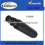 Tonalizador preto compatível do E-estúdio de Toshiba, tonalizador original T-3520D da copiadora