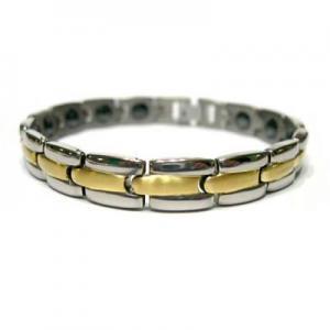 China Magnetic Titanium Bracelet, Stainless Steel Bracelet on sale