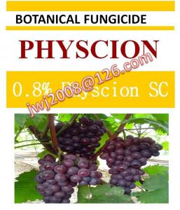 China botanical fungicide, 0.8% Physcion SC, organic natural on sale