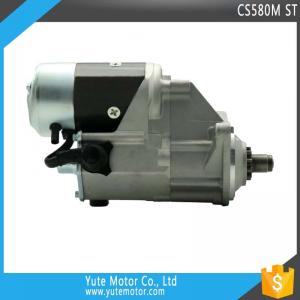 China YTM CS580M 12V 10T 2.5KW tractor excavator truck starter motor parts on sale