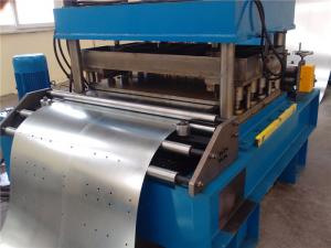 China 16 Stations Roof Tile Roll Forming Machine , Arch Sheet Roll Forming Machine For Roof Building on sale