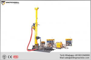 China Full Hydraulic Man Portable Drill Rig with 50 KN Lifting Capacity 0 - 900 rpm Speed Range on sale