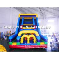 Customized Inflatable Bouncy Castle Giant Inflatable Playground With Slide