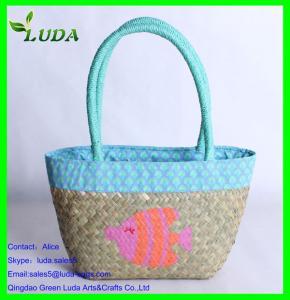 China Mini sea grass stylish tote bag on sale
