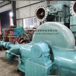 River Water Flow Power Turbulent Water Turbine Turgo Turbine Generator