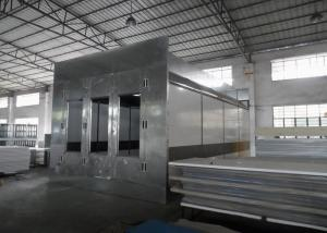 China Automotive Paint Spray Booth Heat Recovery System Air Flow Controlled on sale