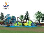 Outdoor Custom Playground Slides , Large Playground Equipment Slides