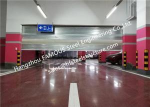 China Steel Fire Security Door With Smoke Detecor Emergency Fire Resistant Garage Door Systems on sale