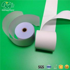 China Colorful NCR Carbonless Paper 100% Virgin Wood Pulp Bank / Hotel / Chain Store Usage on sale