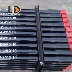 China Black DTH Drill Pipe For Water Well Drilling In Horizontal Directional Drilling on sale