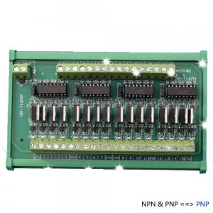 China 16 Channels Simens or Mistubishi PLC Output Power Amplifier Module Relay Board ZC16MP on sale